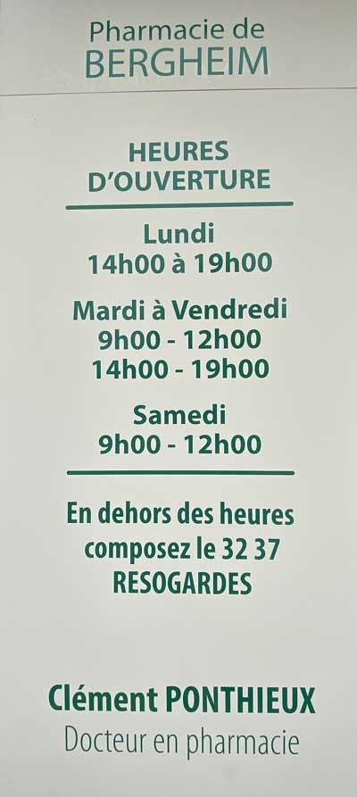 Horaires-Pharmacie-de-Bergheim-Chauny